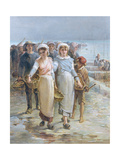 Oyster Girls at Cancale