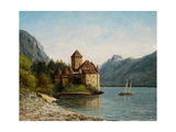 The Castle of Chillon  Evening  C1872