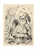 Alice and the Pack of Cards  from 'Alice's Adventures in Wonderland' by Lewis Carroll  Published…