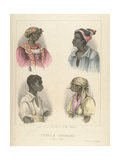 Creole Negroes  Plate 12 from 'sketches of Character'  1838