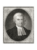 Dr John Witherspoon  Engraved by James Barton Longacre (1794-1869)