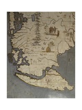 Terrestrial Globe  Detail of Tierra Del Fuego  1683