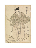 The Actor Sawamura Sojuro in the Role of Kudo Suketsuno  in the 'soga Brothers' Revenge'  C1804-17