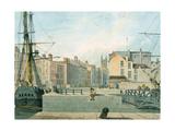 View of Prince Street  Bristol  1826