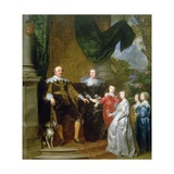 John  Count of Nassau with His Family  1634