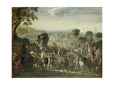 The Plundering of a Village During the Thirty Years' War  1660