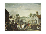 Troops Plundering a Village During the Thirty Year' War  1660