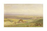 Pevensey Bay  Sussex  1868