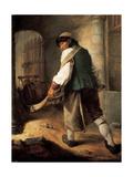 A Villager  1756