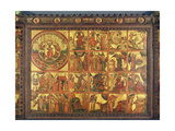Altarpiece with 48 Scenes of the Apocalypse  C1400