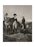 First Meeting of George Washington and Alexander Hamilton  from 'Life and Times of Washington' …