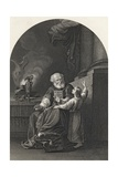 Samuel and Eli  Engraved by S Allen  from 'The National Illustrated Family Bible'  Published…