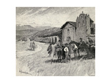 Mission Santa Ynez or Ines  Solvang  California  from 'The Century Illustrated Monthly Magazine' …