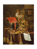 A Vanitas Still Life  1689