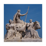 Europe  Sculpture Group from the Albert Memorial  1871