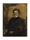 Portrait of Johann Strauss the Younger  1895