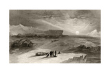 The Look Out from Cape George Russell  Engraved by R Hinshelwood  from 'Arctic Explorations in…