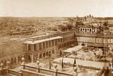 Panoramic View of the Courtyards of the Residency  Lucknow