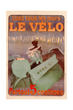 Advertisement for Le Velo  Printed by Affiches Camis  Paris  C1899
