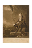 Sir Walter Scott  Engraved by Charles Turner  1810
