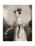 Princess Alexandrina Victoria of Saxe-Coburg  Engraved by J Cochran  from 'National Portrait…