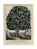 The Tree of Temperance  Published by N Currier  New York  1849