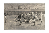 England V Scotland Rugby Match  Richmond  1891