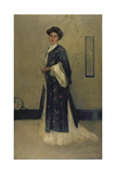 Lady with Japanese Gown