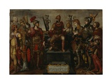 Allegory of the Holy Roman Empire under Emperor Charles V  after 1556