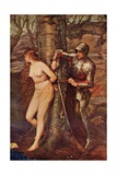 A Knight-Errant - Figure of Chivalric Romance Literature  Illustration from 'Romance and Legend…