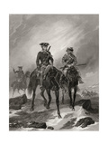 George Washington on His Mission to Ohio in 1754  from 'Life and Times of Washington'  Volume I …