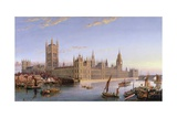 View of Westminster from Lambeth  1859