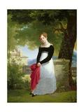 Portrait of Adelaide-Sophie Cleret  C1817