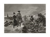 George Washington and La Fayette at Valley Forge  from 'Life and Times of Washington'  Volume I …