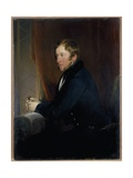 Portrait of William Spencer Cavendish  6th Duke of Devonshire  1831-32