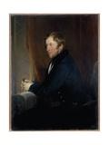 Portrait of William Spencer Cavendish  6th Duke of Devonshire  1831-32
