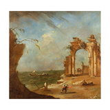 Capriccio with a Ruined Arch