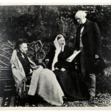 Florence Nightingale  Parthenope  Lady Verney and Sir Harry Verney at Claydon House