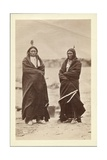 Two Braves  Dakota  1868