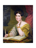 Portrait of the Hon Mrs Caroline Norton  1832