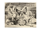 The Duchess with Her Family  from 'Alice's Adventures in Wonderland' by Lewis Carroll  Published…