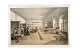 A Ward in the Hospital at Scutari  Engraved by E Walker  1856
