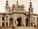 The Great Gate of the Kaiser Bagh  Lucknow  1858