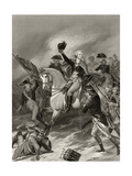 George Washington at the Battle of Princeton  January 3rd 1777  from 'Life and Times of…