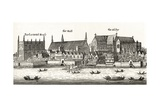 Westminster in 1647  from 'London Pictures: Drawn with Pen and Pencil'  by Rev Richard Lovett …