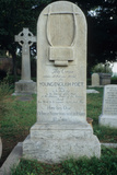 Gravestone Erected for Keats in the Protestant Cemetery  Rome  Dated February 24th 1821