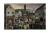 Augsburger Monatsbilder'  October  November  December  C1531