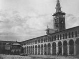 Exterior View  Umayyad Mosque  Damascus  Syria  1862