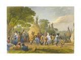 Dog Dance of the Dakotas  1853