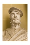 Copy of a Portrait Bust of Hernan Cortes